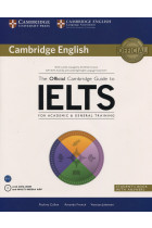 Купити - Книжки - The Official Cambridge Guide to IELTS for Academic & General Training. Student's Book with Answers (+ CD-ROM)