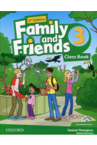 Купити - Книжки - Family and Friends 2nd Edition 3. Class Book (+ CD-ROM)