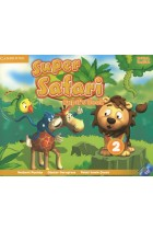 Купити - Книжки - Super Safari 2. Pupils Book (+ DVD, stickers)