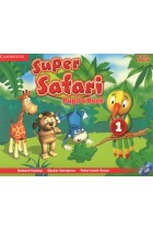 Купити - Книжки - Super Safari 1. Pupils Book (+ DVD, stickers)