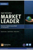 Купити - Книжки - Market Leader 3rd Edition. Upper Intermediate. Coursebook with DVD-ROM and MyLab Access Code Pack