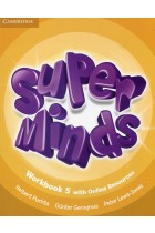 Купити - Книжки - Super Minds 5 Workbook with Online Resources