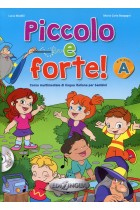 Купити - Книжки - Piccolo e forte! A - Libro (+ CD audio)