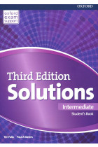 Купити - Книжки - Solutions. Intermediate. Student's Book. Third Edition