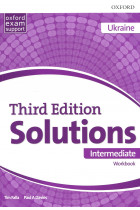 Купити - Книжки - Solutions. Intermediate. Workbook. Third Edition