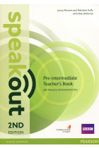 Купити - Книжки - Speakout. Pre-Intermediate. Teacher's Guide with Resource & Assessment Disc Pack