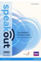 Купити - Книжки - Speakout Intermediate. Teacher's Guide with Resource & Assessment Disc Pack