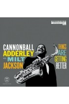 Купити - Музика - Cannonball Adderley With Milt Jackson: Things Are Getting Better (LP) (Import)