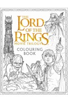 Купити - Книжки - The Lord of the Rings Movie Trilogy Colouring Book