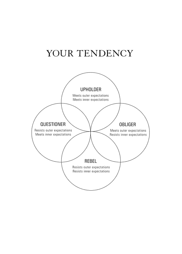 Книга «The Four Tendencies. The Indispensable Personality Profiles That Reveal How to Make Your Life Better», автора Гретхен Рубин – фото №2 - миниатюра